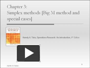 simplex big m method Section 94 the simplex method: minimization 509 32 the accounting firm in exercise 31 raises its charge for an audit to $2500 what.