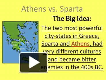 Ppt athens vs sparta powerpoint presentation free to download ppt athens vs sparta powerpoint presentation free to download id 4649d5 zwu4y ccuart Choice Image