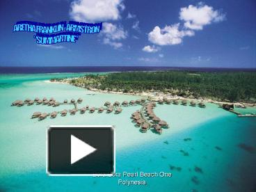 how to get from ppt to bora bora