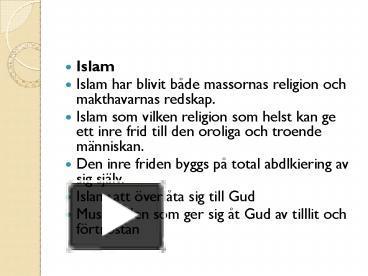 profeter i islam