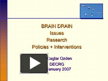essays on brain drain in pakistan