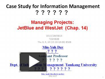 jetblue and westjet a tale of two is projects case study answers