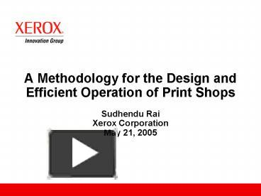 xerox scandal methodology