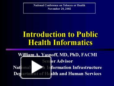 health informatics powerpoint template  PPT – Introduction to Public Health Informatics PowerPoint ...