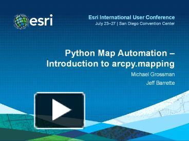 PPT – Python Map Automation PowerPoint presentation   free