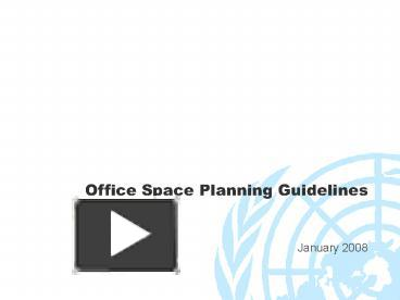 PPT U2013 Office Space Planning Guidelines PowerPoint Presentation | Free To  Download   Id: 4aa945 ZGRhY
