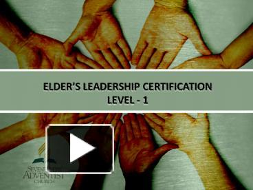 PPT – ELDER PowerPoint presentation | free to download - id: 4bd45f