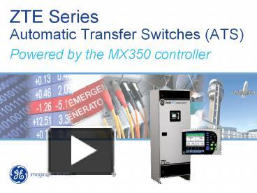 PPT – ZTE Series Automatic Transfer Switches (ATS ... Old Zenith Transfer Switch Wiring Diagram on