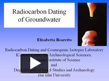 Cosmogenic dating laboratories