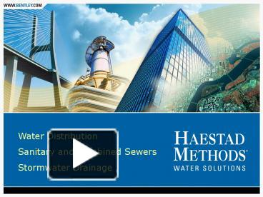 PPT – Water Distribution PowerPoint presentation | free to