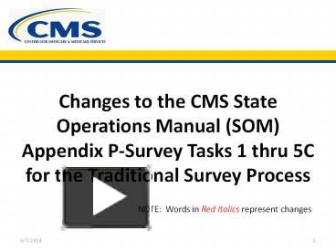 ppt changes to the cms state operations manual som appendix p rh powershow com state operations manual appendix p pp state operations manual appendix p pp