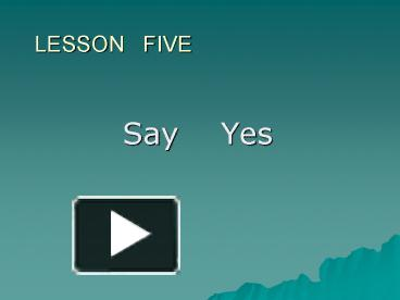 say yes tobias wolff analysis