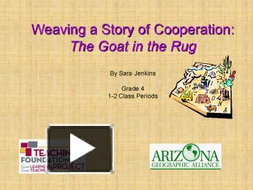 PPT – Weaving a Story of Cooperation