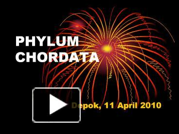 Image of: Phylum Ppt Phylum Chordata Powerpoint Presentation Free To Download Id 51e8a1mzi0y Zoos Home School Ppt Phylum Chordata Powerpoint Presentation Free To Download