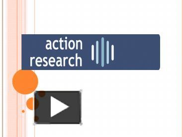 an action research paper