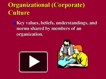 corporate culture the key to