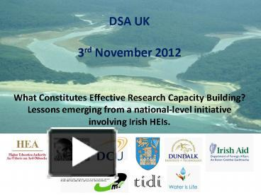 PPT – DSA UK PowerPoint presentation | free to download - id