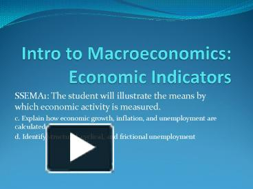 intro to macroeconomics 12 results for intro to macroeconomics principles of macroeconomics, 6th edition (mankiw's principles of economics) feb 4, 2011 by n gregory mankiw paperback.