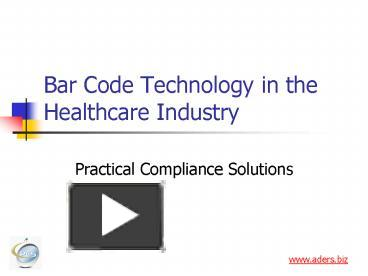 bar code technology in healthcare Barcoding hospital data capture solutions barcoding, inc's automated data collection solutions, including barcoding and radio frequency identification (rfid) technology, can help hospitals and acute healthcare facilities ensure accuracy, accountability, and patient safety inside the four walls.