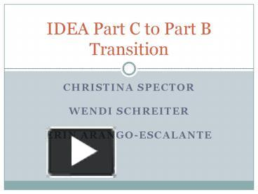 PPT – Christina spector PowerPoint presentation | free to