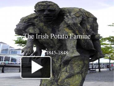 the irish potato famine
