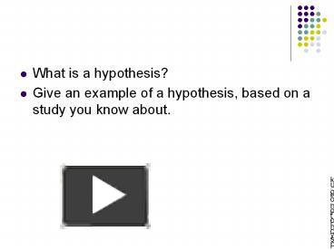 what was rutherfords hypthesis