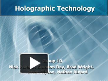 Future technology presentation template   prezibase.