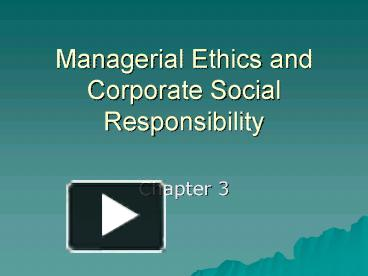 ethics and management of wal mart