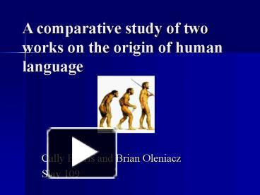 comparing human language