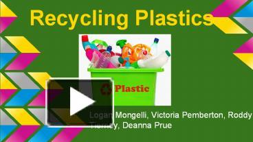 ppt – recycling plastics powerpoint presentation | free to download, Powerpoint Plastic Bag Presentation Template, Presentation templates