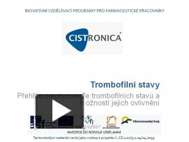 Ppt trombofiln powerpoint presentation free to view id ppt trombofiln powerpoint presentation free to view id 5ddf8f mjnln ccuart Images
