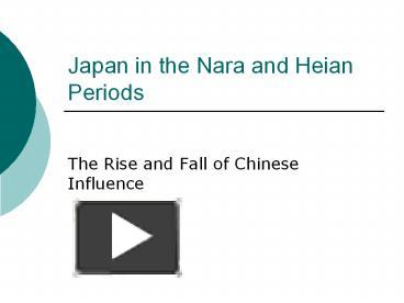 an introduction to the religion in the heian period Read the full-text online edition of women in japanese religions (2015)  much  existing scholarship depicts japan's religious traditions as meremeans of.
