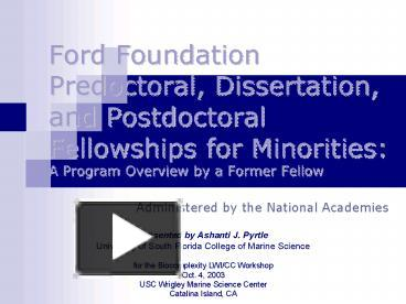 ford foundation dissertation fellowships Dissertation fellowships 2015-2016 ford dissertation fellowship edit robert h n ho family foundation/acls dissertation fellowships in buddhist studies edit.