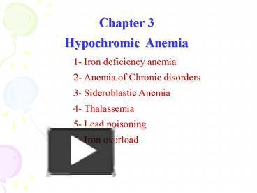 Anemia hypochromic linked sex sideroblastic