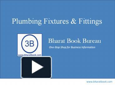 PPT Plumbing Fixtures Fittings PowerPoint Presentation
