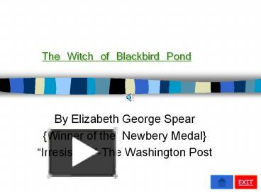 PPT – The Witch of Blackbird Pond PowerPoint presentation | free to