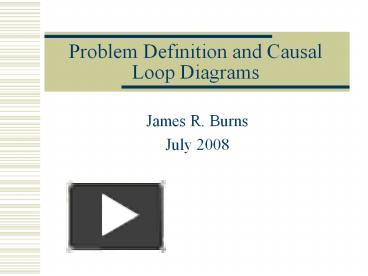 Ppt problem definition and causal loop diagrams powerpoint ppt problem definition and causal loop diagrams powerpoint presentation free to download id 61aac zdc1z ccuart Image collections