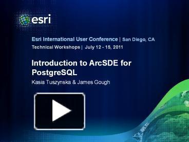 Connecting to arcgis desktop postgresql database (running locally.
