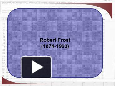 the theme of poverty in robert frosts the road not taken Get an answer for 'what is the theme of 'the road not taken' by robert frost'  and find homework help for other the road not taken questions at enotes.