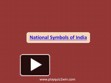 Ppt national symbols of india powerpoint presentation free to ppt national symbols of india powerpoint presentation free to download id 650055 mwy5n ccuart Choice Image