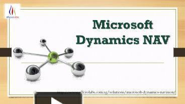 PPT – Microsoft Dynamics NAV PowerPoint presentation | free