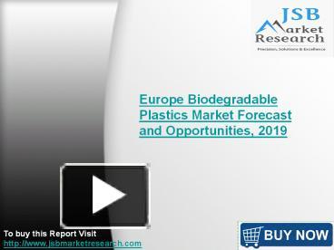 jsb market research polylactic acid