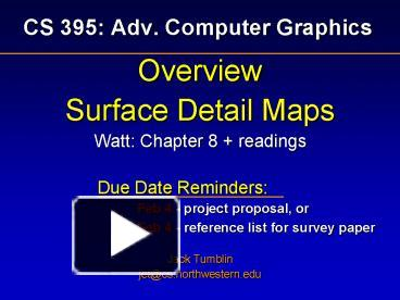 survey of computer graphics