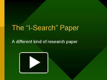 elaborate research paper