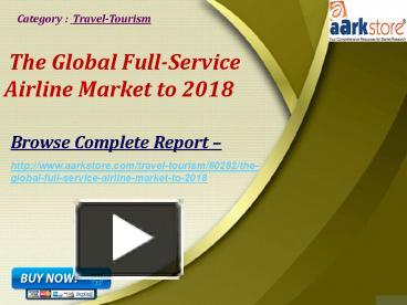 global low cost airline market to 2018