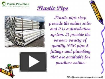 PPT – Plastic Pipe PowerPoint presentation | free to