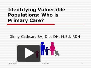 caring for vulnerable populations Hdl handle: category: full-text format: text-based document type: poster title: caring for vulnerable populations: perspectives of interprofessional graduate students.