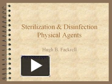 PPT – Sterilization PowerPoint presentation | free to download - id