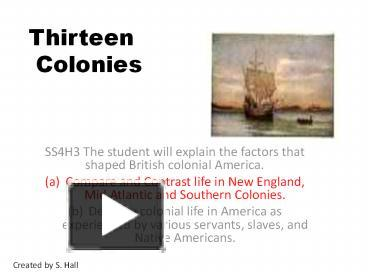 Ppt thirteen colonies powerpoint presentation free to download ppt thirteen colonies powerpoint presentation free to download id 704f18 ymrkm toneelgroepblik Image collections