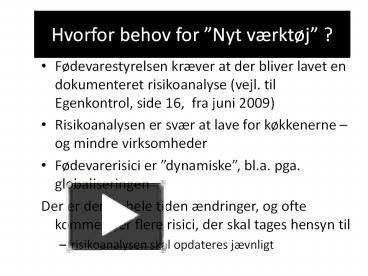 PPT – Hvorfor behov for PowerPoint presentation | free to download ...